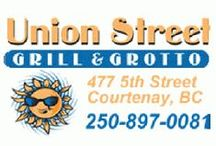 Union Street Grill & Grotto in Courtenay / Anyone tuned into Vancouver Island's gluten-free dining scene has heard the call of Union Street Grill & Grotto's amazing celiac-friendly menu – with its extensive selection of gluten-free appetizers, entrees and desserts.