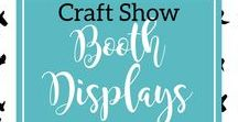 Craft Show Display Ideas / Inspiration I find for my craft show booth displays for all seasons.