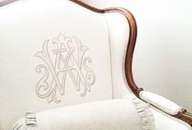 A Personalized Home / Ideas for personalizing and monogramming everything in your home.