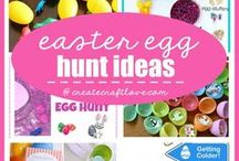 Fun & Unique Easter Egg Hunt Ideas / Ramp up your Egg Hunt game with these fun, non-traditional ideas that cover all ages from toddlers and kids, to even teens and adults!