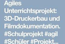 Unterricht / #Schulprojekt #agil #Schüler #Projekte #3D #Drucker #moderneSchule #Unterricht #Projekttage #Digitalisierung #Bildung #Schule #Unterricht #Bildungstechnologe #education #digital #lesson #school #teacher