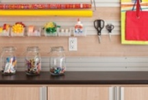 Craft Room / The well-organized crafter - not an oxymoron. Get stowed so you can cut and sew!