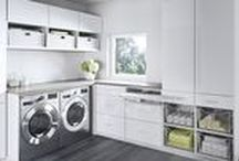Laundry Room / We're against wash days that feel like chore days.