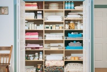 Linen Closet / Store your favorites with style.