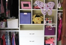 Kid's Closet / Children's closets - not always a nightmare. Dreamy ideas for your little ones.