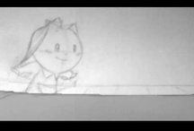 "Storyboard - Line tests - Margarita - Hampa Animation Studio / An early look to the ""Margarita"" animation short."