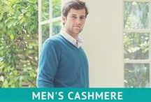 Men's Clothing & Accessories / Men's Fashionable, everyday cashmere collection from Feine Cashmere