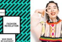 """FASHION REVOLUTION DAY, April 24 / It's time to be a part of the ethical fashion solution. """"Wear your heart on your sleeve"""" and join the movement! @FashRev #whomadeyourclothes  www.FashionRevolution.org."""