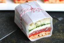 Sandwiches, burgers, sliders & wraps