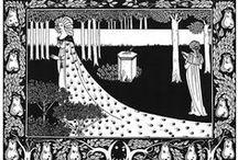"Aubrey Beardsley ""Le Morte d'Arthur"""