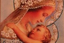 Mother Mary / Mary is a mother to every believer; Jesus would not leave his followers orphans. - Pope Francis
