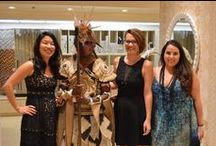Designer Runway - Team IDI / Team members: Keighley Botterill, Jocelyn Lander and Traci Salemme, together with Prof. Cynthia Amaral came in Second Place at the 2014 Designer Runway!!! This event benefits the Illumination Foundation.