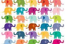 Elefantes <3 - Arte / by Amaya Santamaria Zeberio