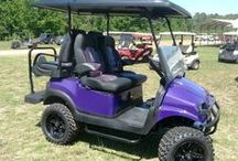 Extreme Golf Cars and Carts / Golf Cars and Carts - Gas, Electric & Hybrid.  Custom golf cars for use on course, RV park friendly, hunting, Nascar camping - pit use, naturalist, beach cruising, neighborhood transportation, bird-watching, mobilization or accessibility for equipment & people.   Electric and gas golf cars and carts  Online catalog: https://www.onlinecatalogsystem.net/catalog/HollyLakeGolfCarRanch/browsemanuf.htm