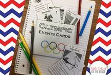 Olympics 2016 in the Classroom / Using the 2016 Olympics in Rio in my classroom.