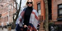 100 Ways to Wear Ponchos & Capes / Inspiration for adding your favorite knitwear to your go-to looks