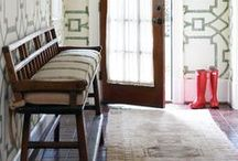 Hallways & Porches / First impressions and all that...