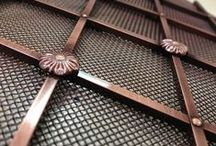 Decorative Grilles / Beautifully made grilles available in a variety of patterns and finishes. Each grille can be made bespoke to your specification.