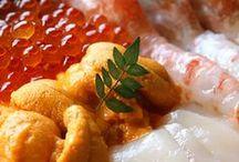 japanese food / by Elisa Escovar