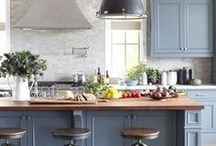 Kitchens We Love  / Beautiful kitchens we find when browsing through Pinterest