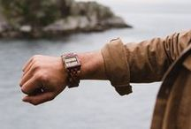 Men's Watches / Unique and stylish men's watches made from wood, designed and crafted in Canada