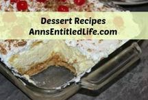 Dessert Recipes / Dessert Recipes: Scrumptious and decadent dessert recipes guaranteed to impress friends, family as well your taste buds!  | Dessert Recipes  | Sweet Recipes  | Cake Recipes  | Donuts Recipes  | Trifle Recipes  |  Pie Recipes  | Pudding Recipes  |  http://www.annsentitledlife.com/recipes/