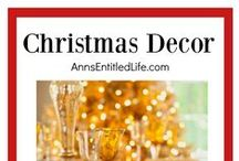 Christmas Decor / Christmas Decor | Christmas Decor DIY | Christmas Decorations | Christmas Crafts | Christmas Ideas | Christmas Trees | Holiday Decorations | Holiday Crafts | Holiday Ideas | Holidays | Christmas | Christmas Decor | DIY Christmas Ideas |  Please share your favorite Christmas Decor (please, NO RECIPES or Elf on the Shelf). Please limit yourself to three (3) pins per day.