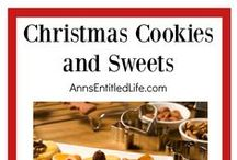 Christmas Cookies and Sweets / Christmas Cookies | Christmas Cookie Recipes | Christmas Bar Recipes | Christmas Sweets Recipes | Christmas Dessert Recipes | Holiday Cookies | Holiday Treats | Holiday Snacks |: Perfect for a cookie exchange or whipping up a batch of cookies for family, friends and neighbors; enjoy these wonderful holiday treats! Please limit yourself to three (3) pins per day.  This board is moderated. Spam and inappropriate content will be deleted.