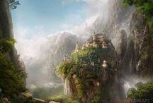Fantasy Landscapes / Fantasy Landscapes