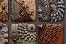 Ceramic / Керамические панно от Chris Gryder