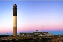 Oak Island Lighthouse / This is our collection of photos and art of the beautiful Oak Island Lighthouse in Caswell Beach, North Carolina. https://www.rudd.com #OakIsland #Lighthouse #CaswellBeach #WannaGetAway #LocalGem