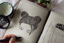 Drawings / Drawings I find inspirational and cute