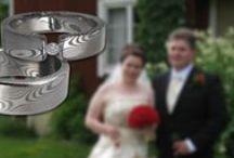 Damastiteräs sormukset / Damascus Rings / Hääsormukset / Wedding Rings / Damastiteräksestä valmistettuja sormuksia / Rings made of damascus steel