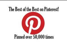 Pinned Over 50,000 Times / The best of the best on Pinterest! These have all been repinned from their original source over 50,000 times on Pinterest.