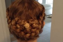Hairstyles / Love doing hair and these are some I've done