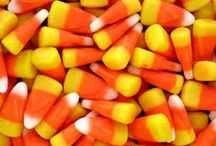 Candy Corn / Candy Corn Crafts | Candy Corn Recipes | all things Orange, Yellow and White!