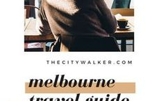 Melbourne / Where to go, what to do and how to eat and explore like the locals in Melbourne. Must see, do, visit and try when in Melbourne for young travelers and tourists!