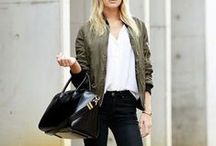 Bomber Jacket <and how to wear it>