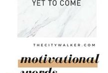 Words Of Motivation / Personal - Poetry - Inspirational and Motivational Words - Feminine