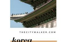 Korea / Things to add into our lists to eat, explore, live and play like a local in Korea.