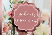 Hochzeits Dekoration