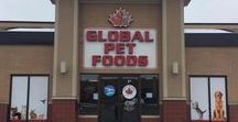 About Us / Global Pet Foods is the largest Canadian-owned pet specialty retailer. We have been pet nutrition & pet care experts since 1976. We are proud to be Canadian!  There are 158 stores located throughout Canada.  Pets are our passion.  The Global Pet Foods Healthy Pet Care Specialists have the expertise to provide you with product recommendations and pet care information so that your companion pets are healthy and happy.   We are Canada's Healthy Choice for Pets!