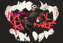 MCR WILL LIVE ON / My chemical romance saved my life and as a fanbase we should all gang up together and show the world our love for them cheesy I know but I like cheese ~xXAdrenaline / by AddyKat *
