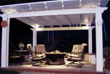 Pergolas  - Palmetto Outdoor Spaces Can Install / Outdoor Living areas are a great place to relax, enjoy a book, share with friends, or celebrate a special occasion with family. Create the perfect outdoor space for yourself with a pergola, new patio design, patio cover, fireplace or firepit, or just some new outdoor furniture. Palmetto Outdoor Spaces can help you make it happen.