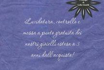 I consigli di Lella Gioielli