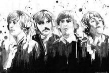Four Mop-Top Boys! / John, Paul, George, and Ringo!