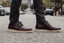 Element of Style : Gold / MEN'S BURNISHED DARK BROWN COLOR BROGUE SHOES WITH LIGHT WEIGHT WEDGE SOLE