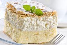 """Desserts / """"Life is uncertain. Eat dessert first.""""   -Ernestine Ulmer"""