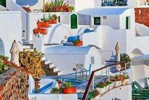 "Greece  / ""Greece is the most magical place on Earth.""  Kylie Bax"