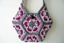 Bags  2 / Crochet, Knitting and Macrame. / by Mrs Mo